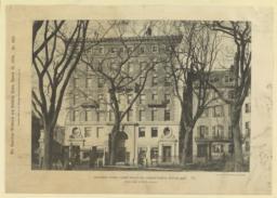 Apartment House, corner Beacon and Charles Streets, Boston, Mass. McKim, Mead & White, Architects