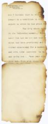 Remnant of burned page 2
