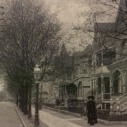 Arlington Avenue, East from...