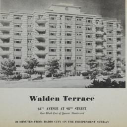 Walden Terrace, 64 Avenue A...