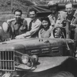 Group Of Seven In Jeep