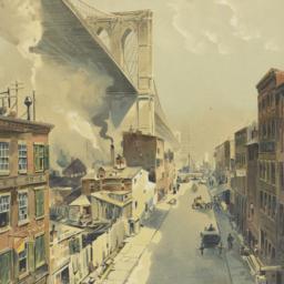 [Street scene with Brooklyn...