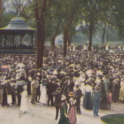 Band Stand, Central Park, N...