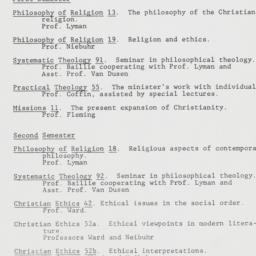 1930-1931 Union Theological...