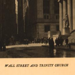 Wall Street and Trinity Church