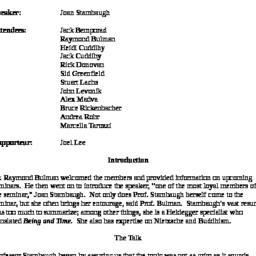 Minutes, 2008-11-17. Studie...