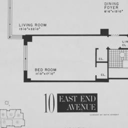 """10 East End Avenue, """"l"""" 2nd..."""