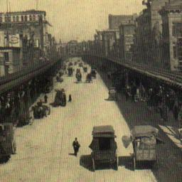 Third Ave., Looking North, ...