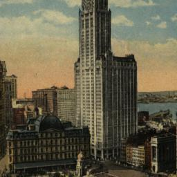 The     Woolworth Building ...