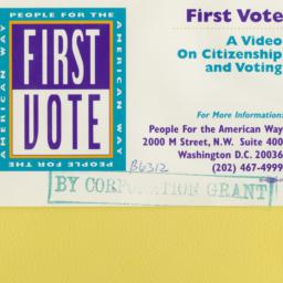 First Vote: A Video on Citi...
