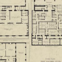 Plate 64. Floor Plans. The ...