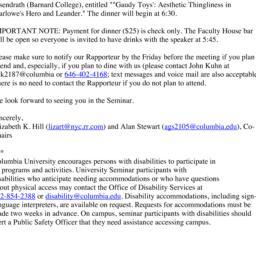 Announcements, 2014-05-13. ...
