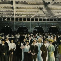 Interior of the Dance Hall ...