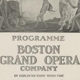 Programme: Boston Grand Ope...