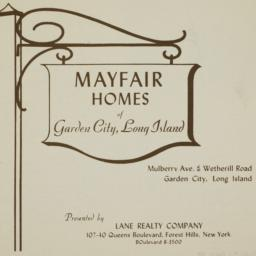 Mayfair Homes, Mulberry Ave...