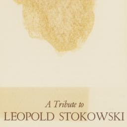 Tribute to Leopold Stokowsk...