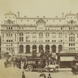 1482 PARIS. -- La Gare Sain...