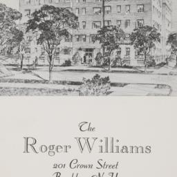 The     Roger Williams, 201...
