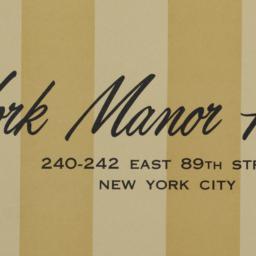 York Manor House, 240-242 E...