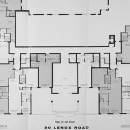 30 Lenox Road, Plan Of 1st ...