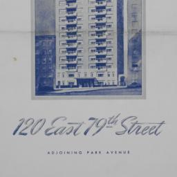 120 E. 79 Street, Plans Of ...