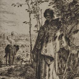 Shepherdess Knitting