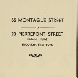 65 Montague Street, 20 Pier...