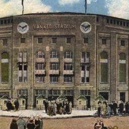 Yankee Stadium. New York.