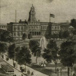 City Hall & Park 1850