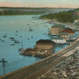 Hudson River and Palisades,...