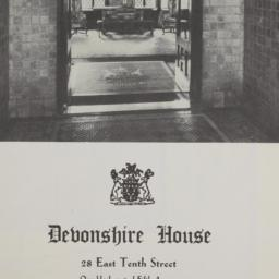 Devonshire House, 28 E. 10 ...