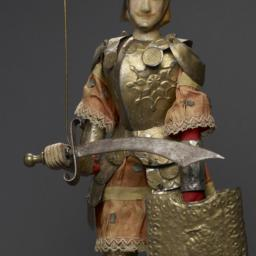 Sicilian Rod Puppet With Bi...