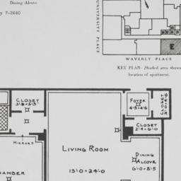 1 University Place, Plan Of...