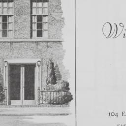 Willet Golden House, 104 E....