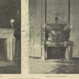 "Fireplace in the ""Red Room...."