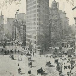 Flat Iron Building, New York