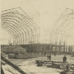 View of iron construction, ...