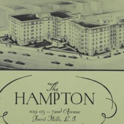 The     Hampton, 109-05 72 ...