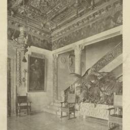 Plate XXXIV. Main staircase...