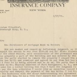City of New York Insurance ...