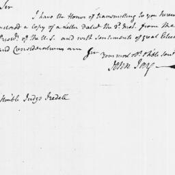 Document, 1790 April 10