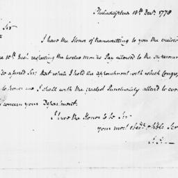 Document, 1778 December 13