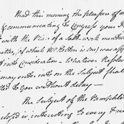Document, 1779 March 16