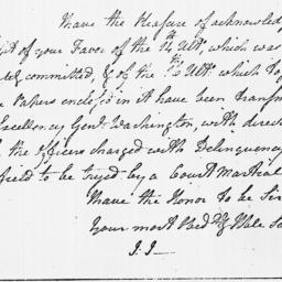 Document, 1779 February 16