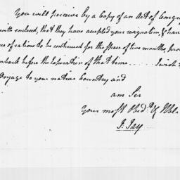 Document, 1779 January 30