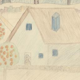 Drawing Of A Country House
