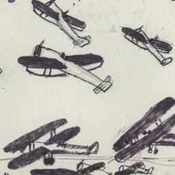 Drawing Of Air Combat