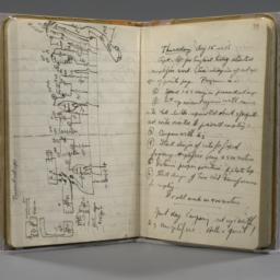 Laboratory notebook, record...