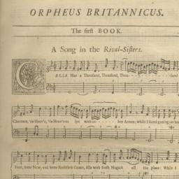 Orpheus Britannicus. A coll...