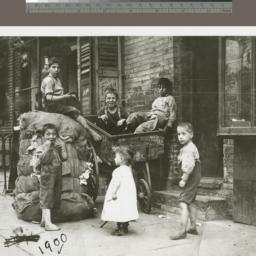 Photograph of slum children...